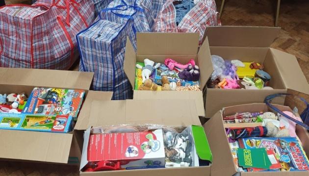 Українки з Ковентрі надіслали допомогу дітям-сиротам та знедоленим П'ятихатського району