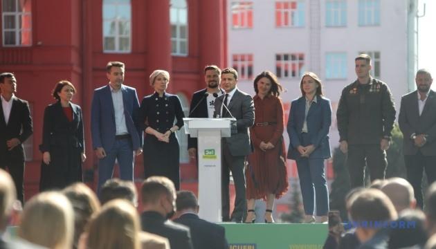 Зеленский официально представил Верещук в качестве кандидата на пост мэра Киева
