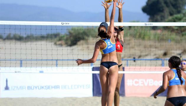 Украинские выиграли юниорский чемпионат Европы по пляжному волейболу