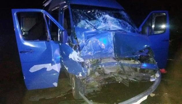 На Николаевщине - ДТП с фурой и микроавтобусом, есть пострадавшие