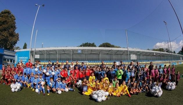В Киеве прошел детский футбольный фестиваль Protasov Cup-2020