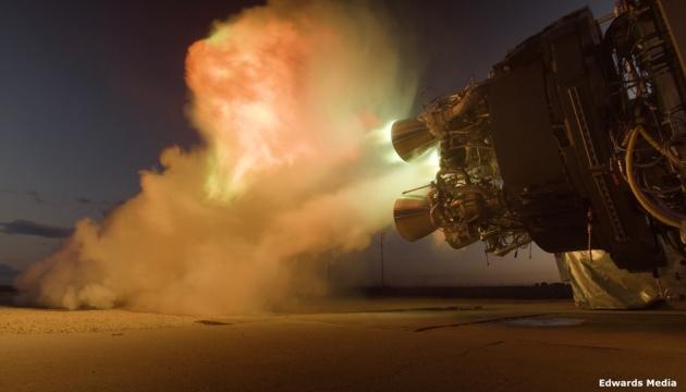 In USA Triebwerke ukrainisch-amerikanischer Alpha-Weltraumrakete getestet
