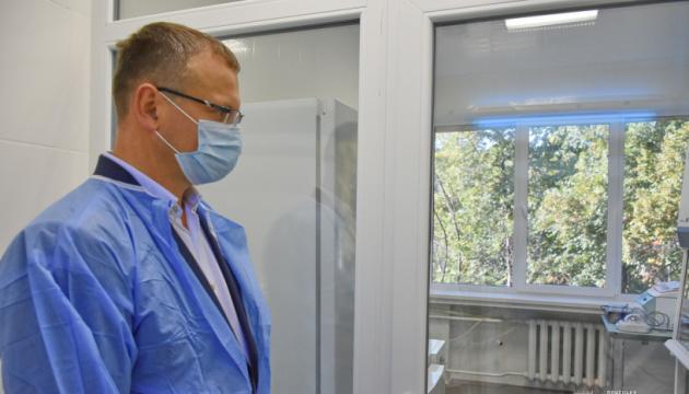 У Краматорську відкрили нову ПЛР-лабораторію, подаровану ВООЗ