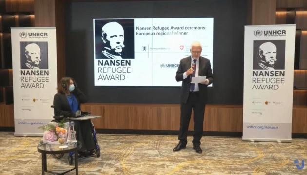 Церемонія вручення міжнародної нагороди ім. Нансена в європейському регіоні