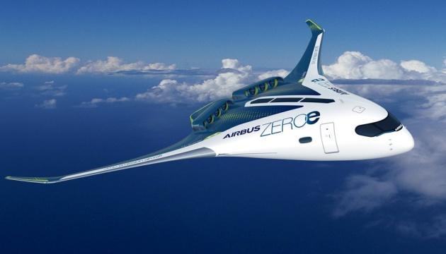 Airbus представив концепти перших літаків із
