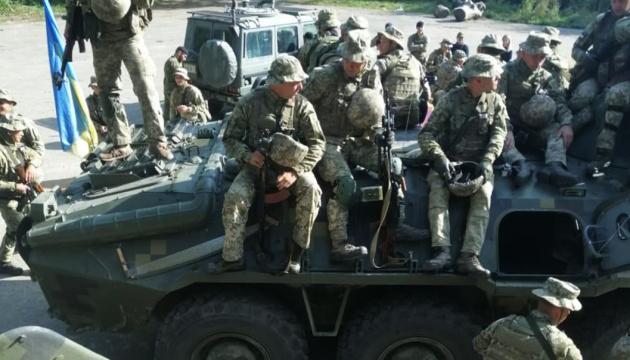 Украинские пограничники приняли участие в учениях