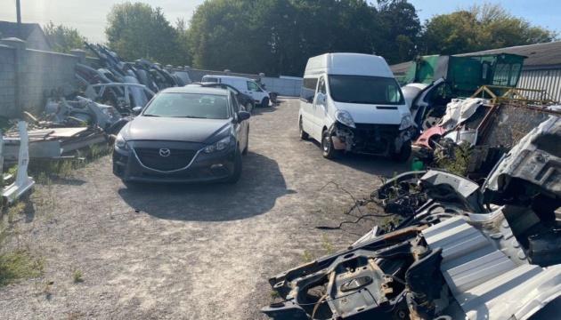 На Київщині затримали банду викрадачів авто, яка