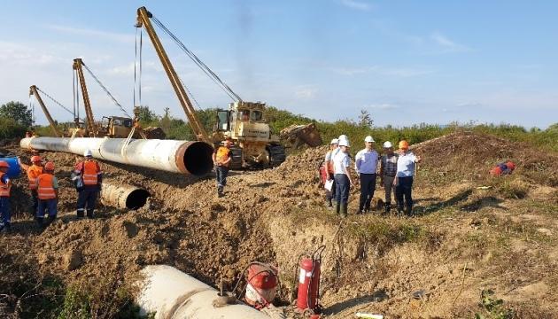Украина возобновляет транспортировку газа из Словакии через ГИС Будинце