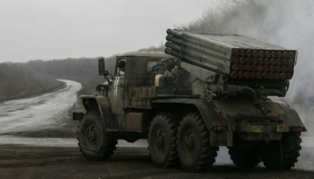 """OSZE entdeckt im besetzten Donbass mehr als 20 nicht abgezogene Raketenwerfer """"Grad"""""""