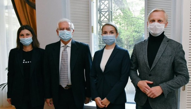 Borrell starts his visit to Ukraine