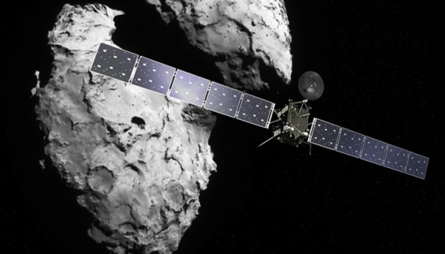 Вокруг кометы впервые зафиксировали