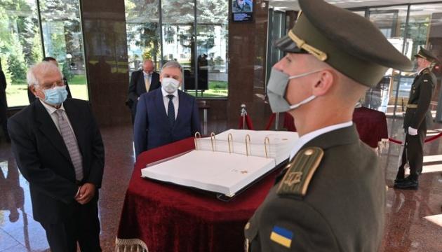 Боррель встретился с Тараном, чтобы обсудить сотрудничество Украины и ЕС