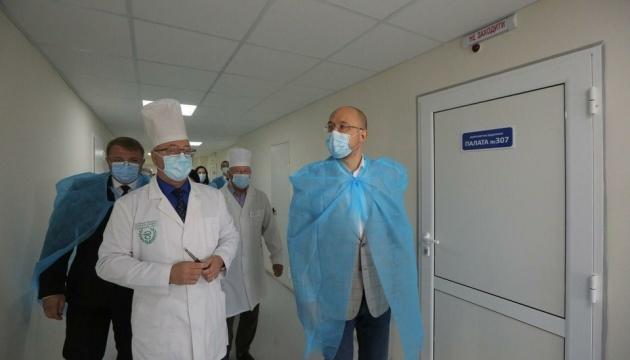 PM Shmyhal visits Sumy Regional Hospital