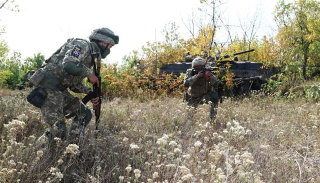 Объединенные усилия-2020: украинские и британские десантники провели тренировку