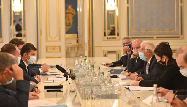 EU stands by Ukraine and its people – Borrell
