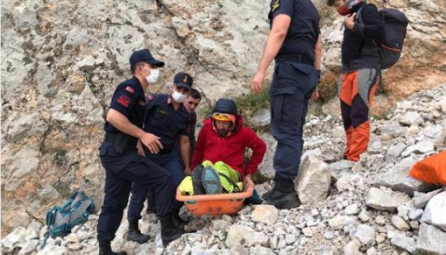 В Турции сорвался с горы украинский альпинист