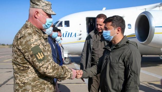 Президент приехал на Николаевщину