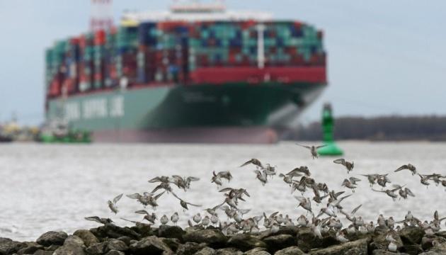 Російський фрегат врізався у контейнеровоз у водах Данії