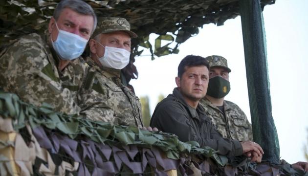 """""""Об'єднані зусилля-2020"""" показали найвищий рівень українських військових - Зеленський"""
