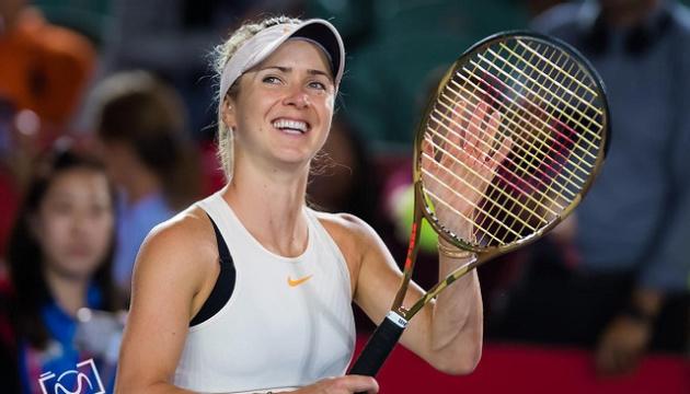 Світоліна у четвер зіграє проти Тайхманн на турнірі WTA у Страсбургу