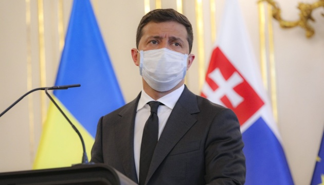 Zelensky: Ukraine, Slovakia have shared vision of risks posed by Nord Stream 2