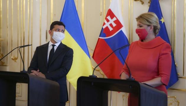 Ukraina i Słowacja mają wspólną wizję zagrożeń związanych z Nord Stream 2 – Zełenski
