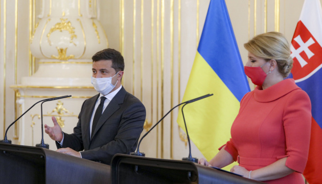 President: Ukraine does not cave in to blackmail and Russia sees this