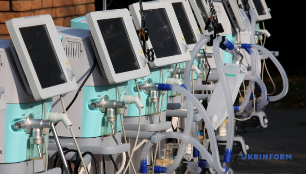 Опорні лікарні Харківщини отримали 16 апаратів ШВЛ