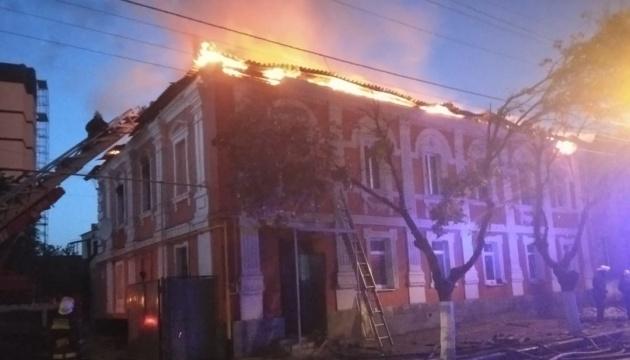 У Харкові вісім годин гасили пожежу у житловому будинку, двоє людей загинули