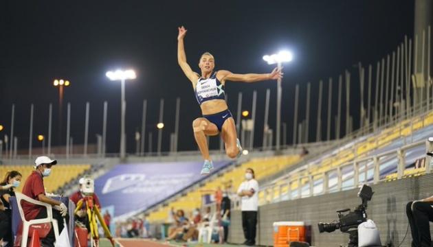 Бех-Романчук виграла етап Діамантової ліги в Катарі