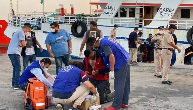 За тиждень з моря поблизу Лівії урятували більше тисячі мігрантів