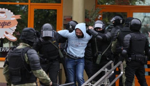 Правозахисники заявили про 265 затриманих сьогодні на акціях протесту в Білорусі