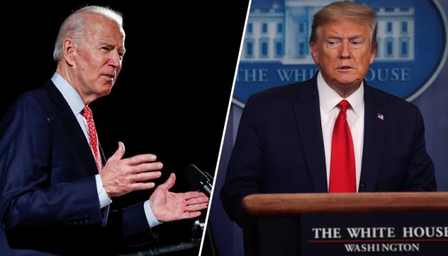 Організатори дебатів між Трампом і Байденом будуть відключати мікрофони
