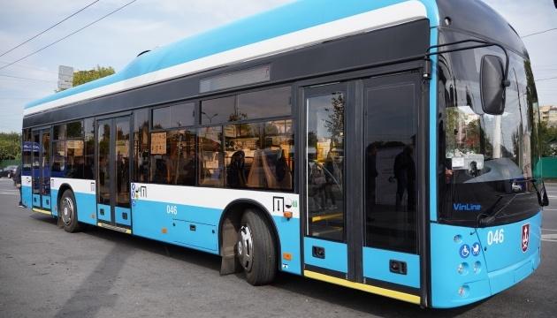 У Вінниці тестують перший тролейбус з автономним ходом на 20 км