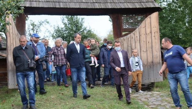 В Ужгородському скансені відкрили Трансільванські ворота