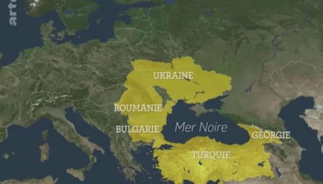 Французький телеканал показав окупований Крим як частину Росії