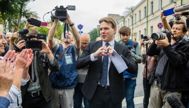 У Білорусі адвокат Максим Знак припинив голодування