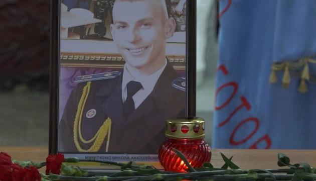 У військовому ліцеї вшанували пам'ять випускників, загиблих у катастрофі Ан-26
