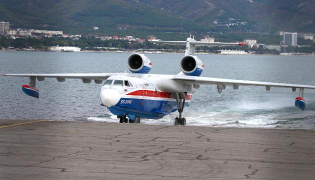 Маневри російських літаків-амфібій налякали жителів Анталії