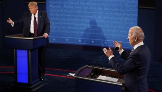 Трамп і Байден: Дебати про Роз'єднані Штати Америки