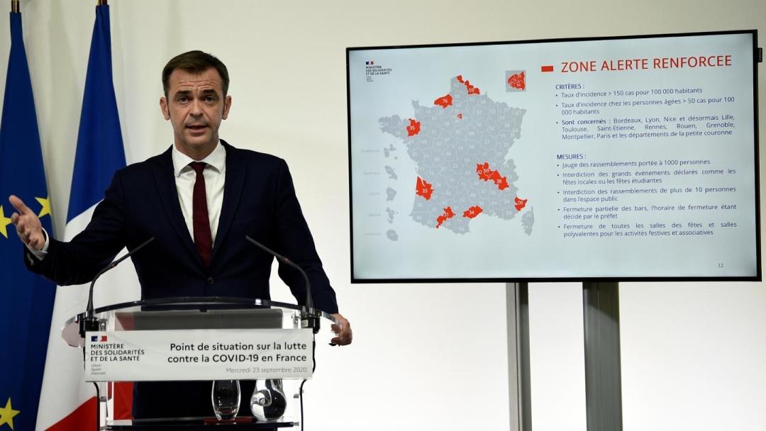 Міністр охорони здоров'я Франції Олів'є Веран