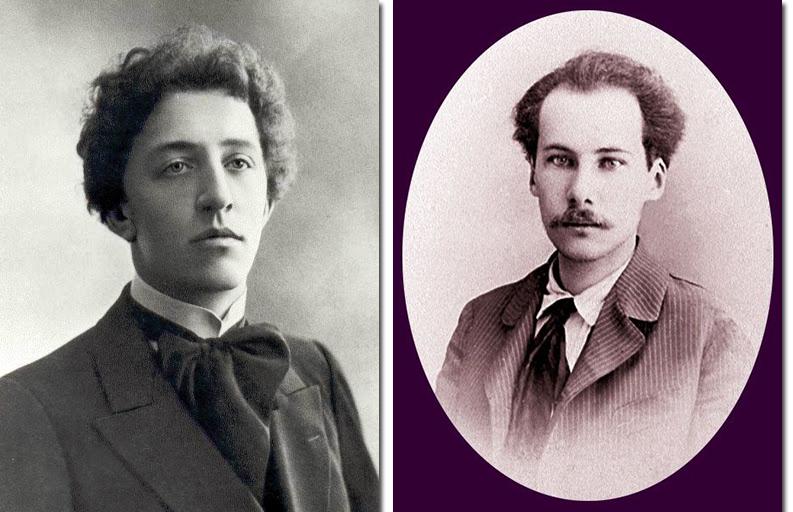 Александр Блок и Андрей Белый