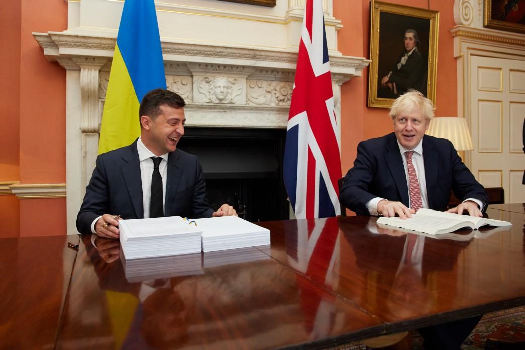 Британский визит Зеленского: лопату назвали лопатой