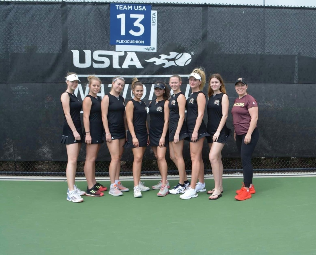 Первая поездка нашей теннисной команды в Орландо, на главную американскую теннисную базу USTA