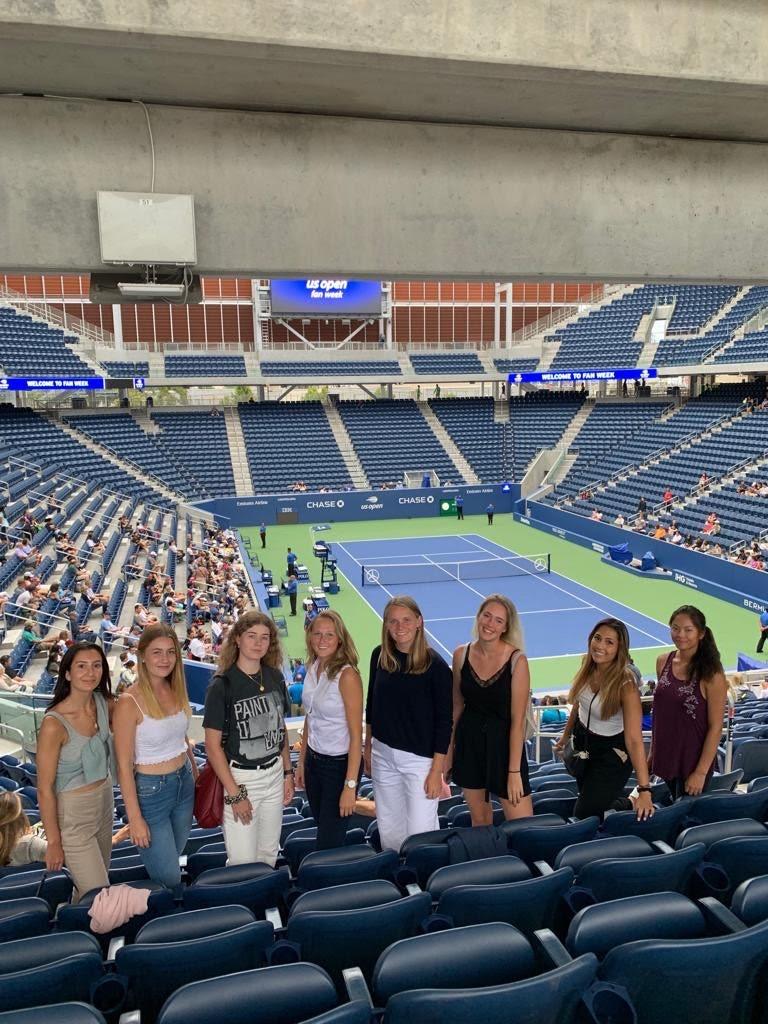 Поездка моей теннисной команды на один из главных турниров Большого Шлема – US Open, полностью проспонсированная университетом