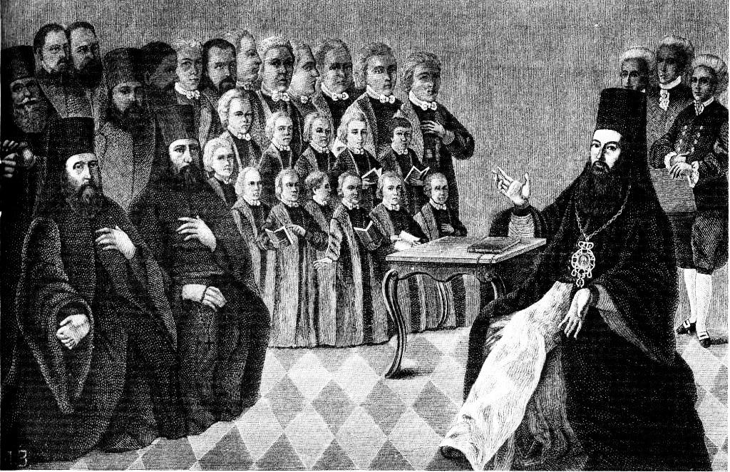 уроки співу в Київській духовній академії