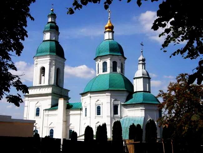Свято-Микільський храм у Глухові