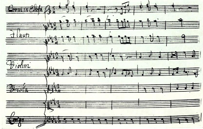 арія Тіманта з опери «Демофонт»