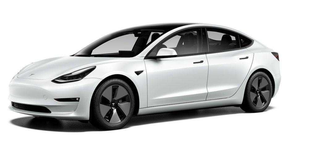 Tesla увеличила запас хода в трех версиях Model 3