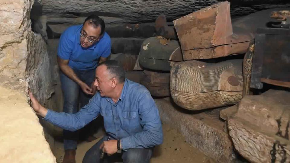 В Египте нашли 80 древних саркофагов